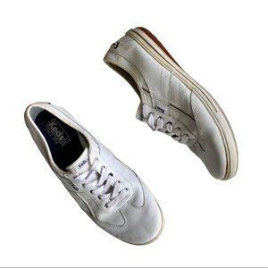 keds ortholite white sneakers size 9.5